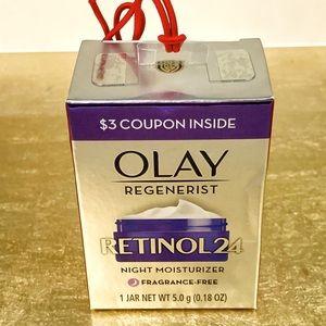 5/$30! OLAY Regenerist Retinol24 Night Moisturizer